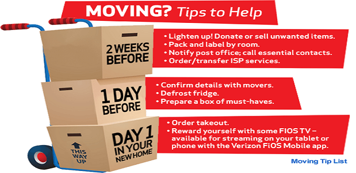 Rockingham House Moving Tips